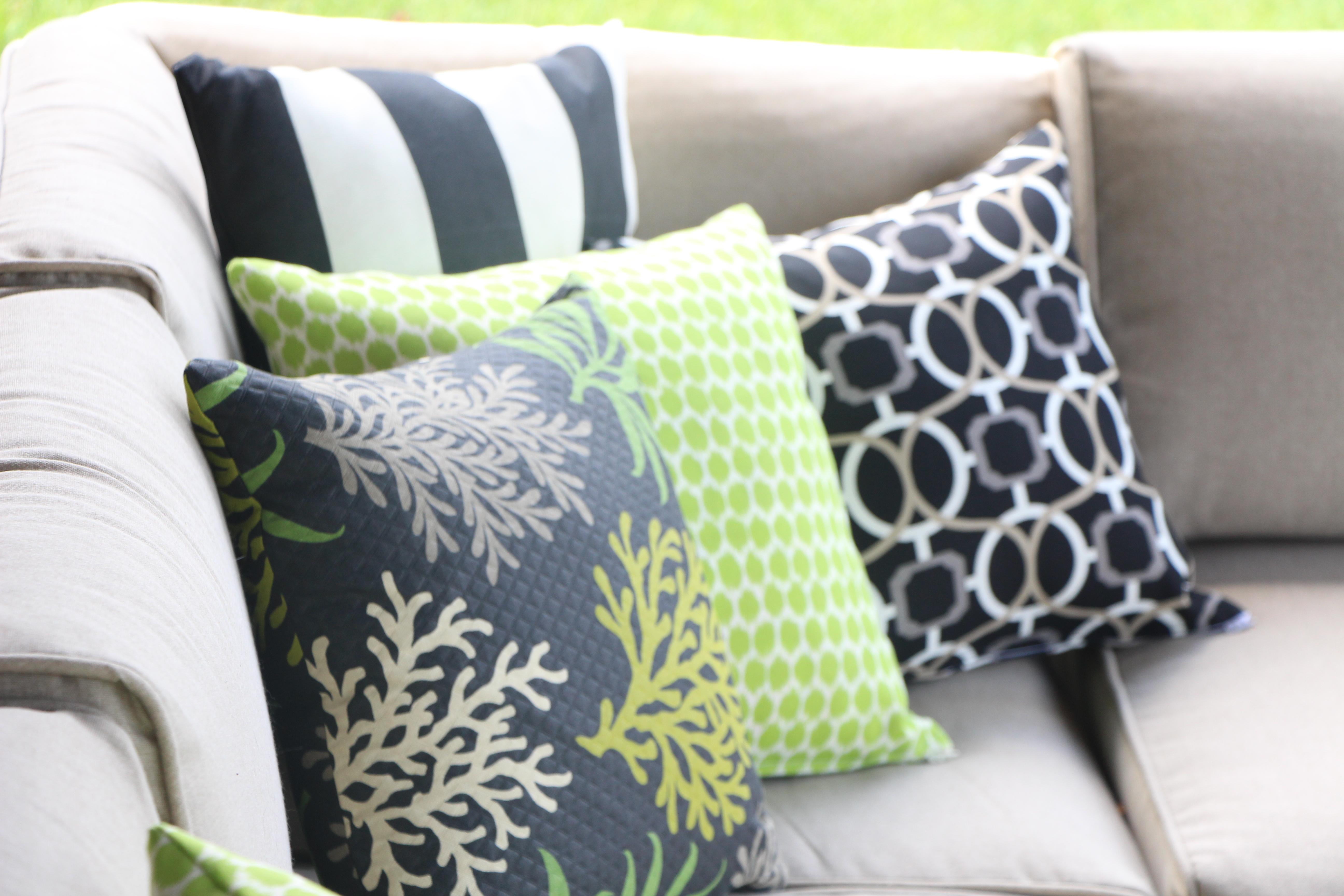 outdoor oasis DIY pillows - thisisourbliss.com