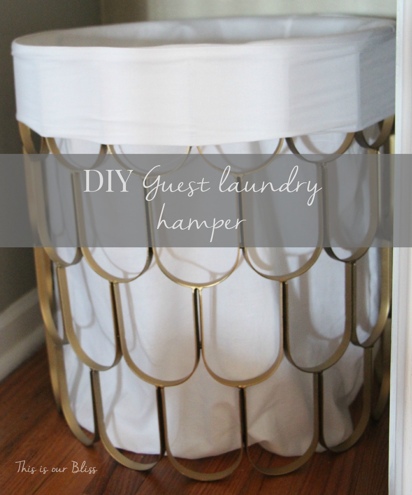 Art Deco Bathroom Ideas Great Find Quick Fix 2 Diy Hamper This Is Our Bliss