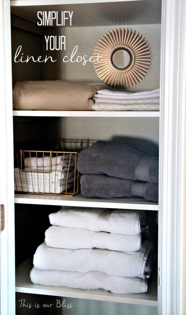 Linen Closet Makeover This Is Our Bliss
