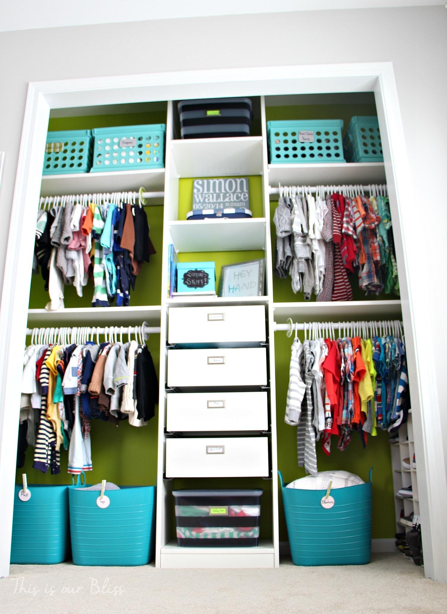 Baby Boy Nursery Closet Diy Nursery Decor Navy Green Gray