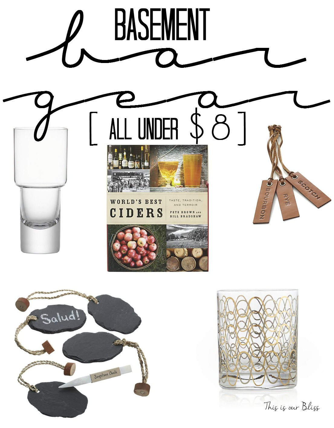 5 Fab Friday Finds Bat Bar Gear Accessories Under 8 Father S Day Gift Ideas Crate Barrel This Is Our Bliss