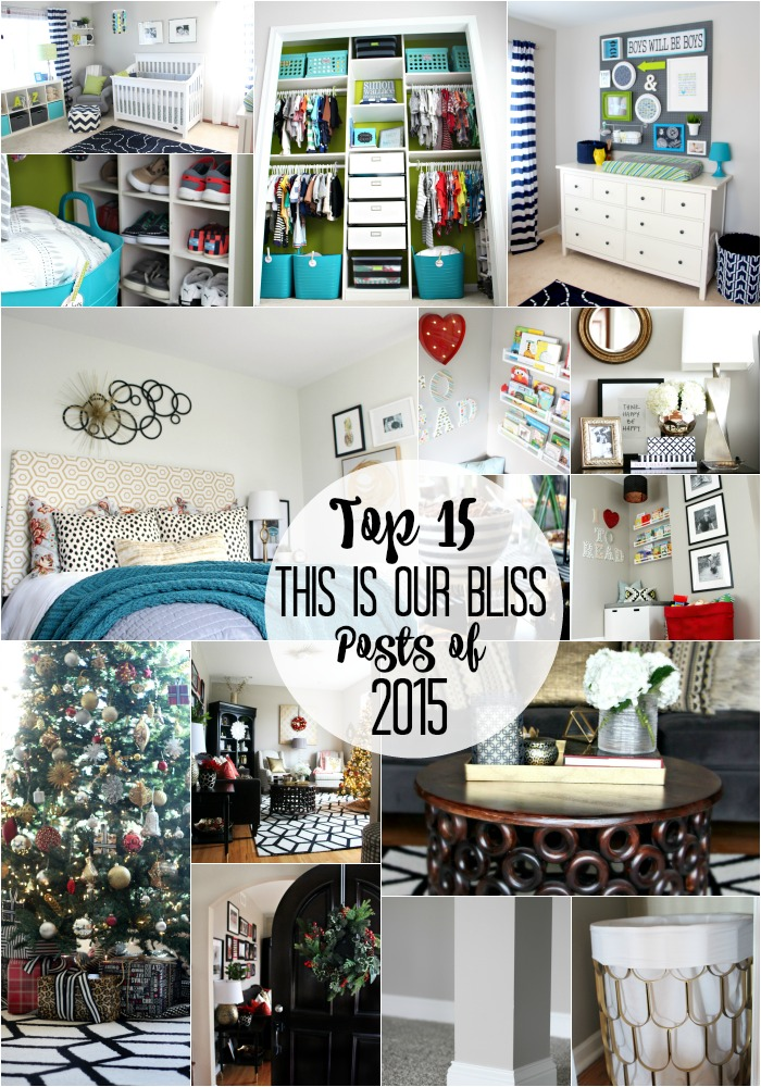 Top 15 of 2015 - Top 15 This is our Bliss posts of 2015 - year in review - thisisourbliss.com
