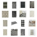 Where to buy black and white rugs for your home - 40+ Black and White Rugs for any room in your home - where to buy bold black and white rugs - This is our Bliss