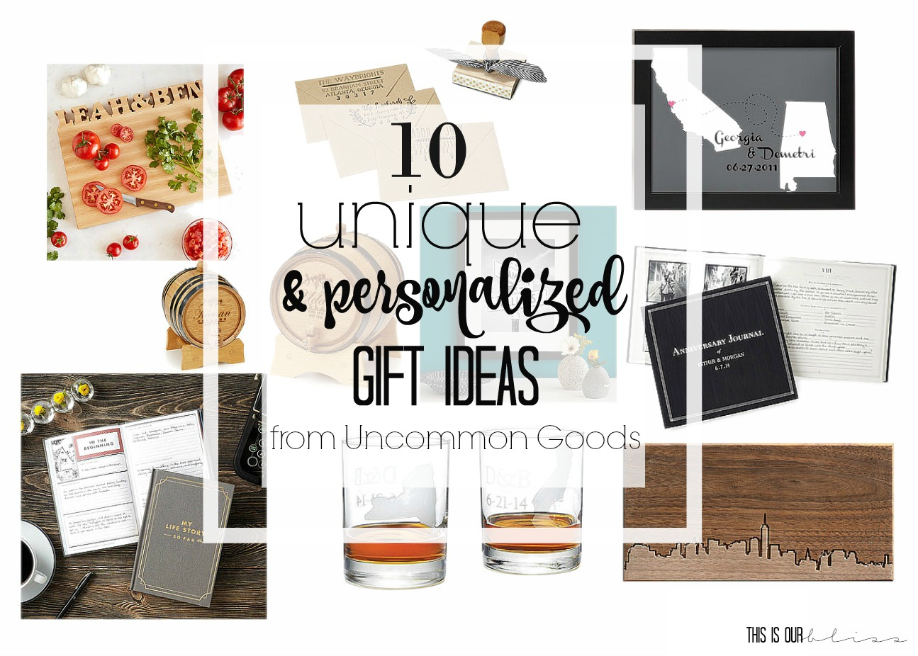 10 unique and personalized gift ideas from uncommongoods-This is our Bliss