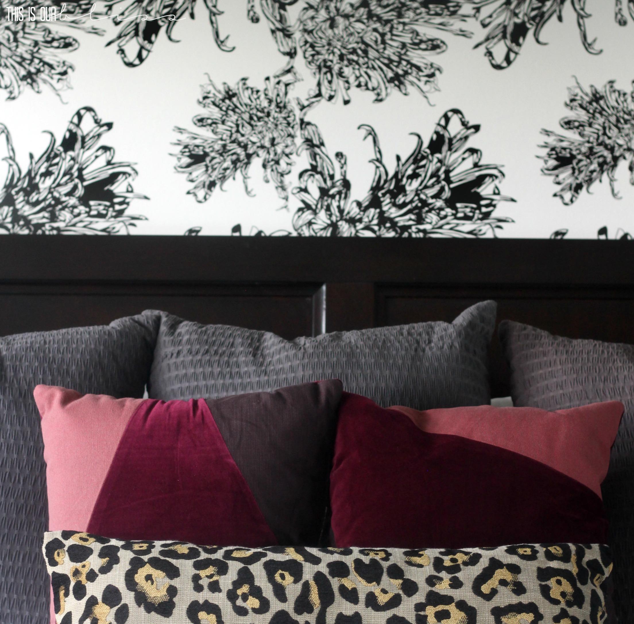 Bedroom Accent Wallpaper