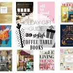 Stylish Coffee Table & Accessorizing Books   Holiday Gift Guide