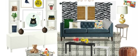 Stylish and Bold Modern Playroom | New Year New Room Refresh Challenge Week 1
