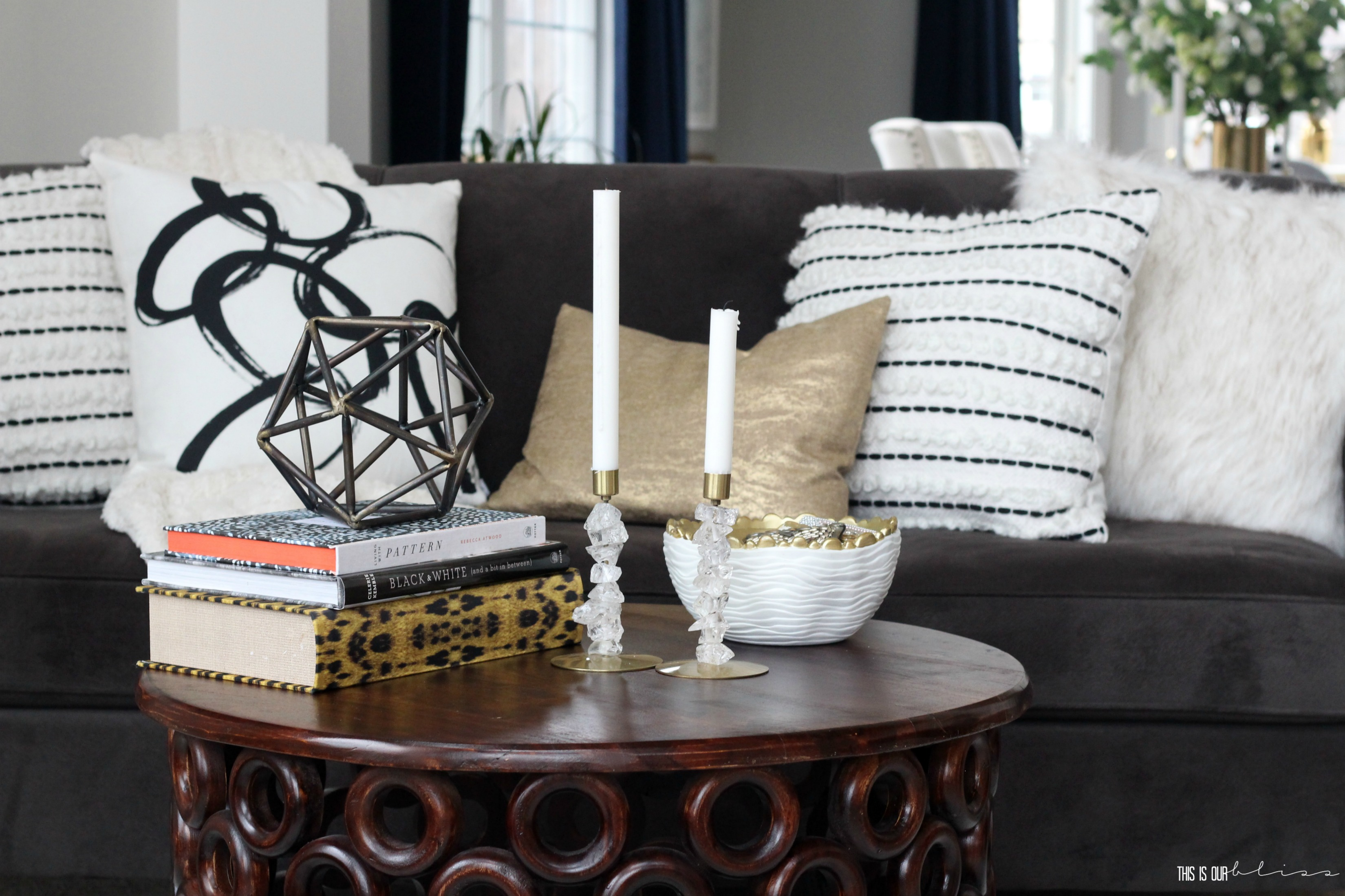 Throw pillows how to style a sofa 2 different ways to style a sofa this is