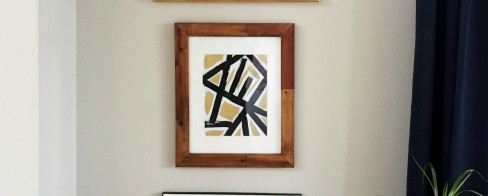 How to DIY Geometric Art That Looks High-End