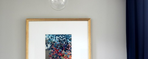 Think Again Thursday #7 | DIY Framed Fabric Art