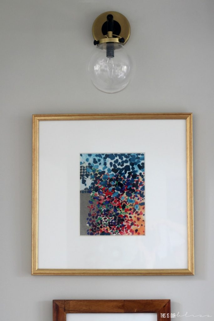 diy-framed-fabric-art This is our Bliss
