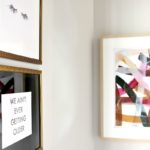 Powder Room Refresh: DIY Art on the Cheap   $100 Room Challenge Week 3