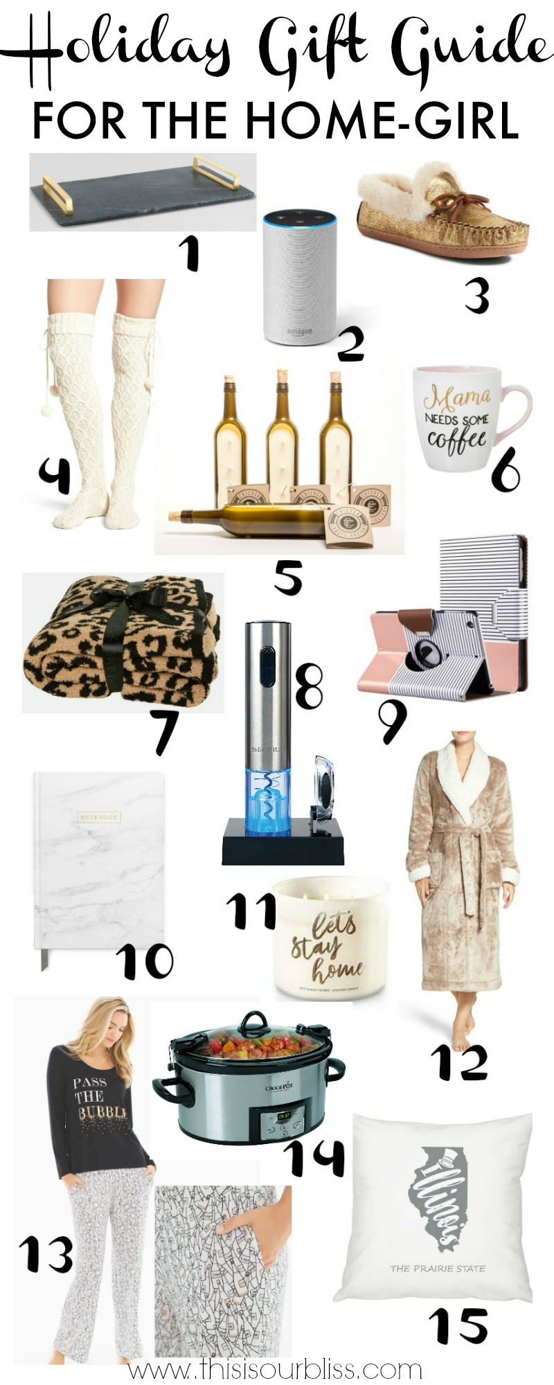 Holiday Gift Guide for the Home Girl