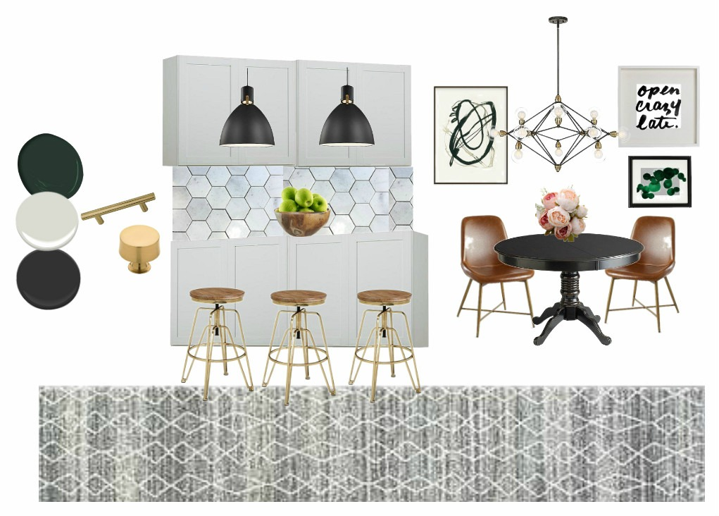 Kitchen Revamp Mood Board | New Year, New Room Refresh Challenge