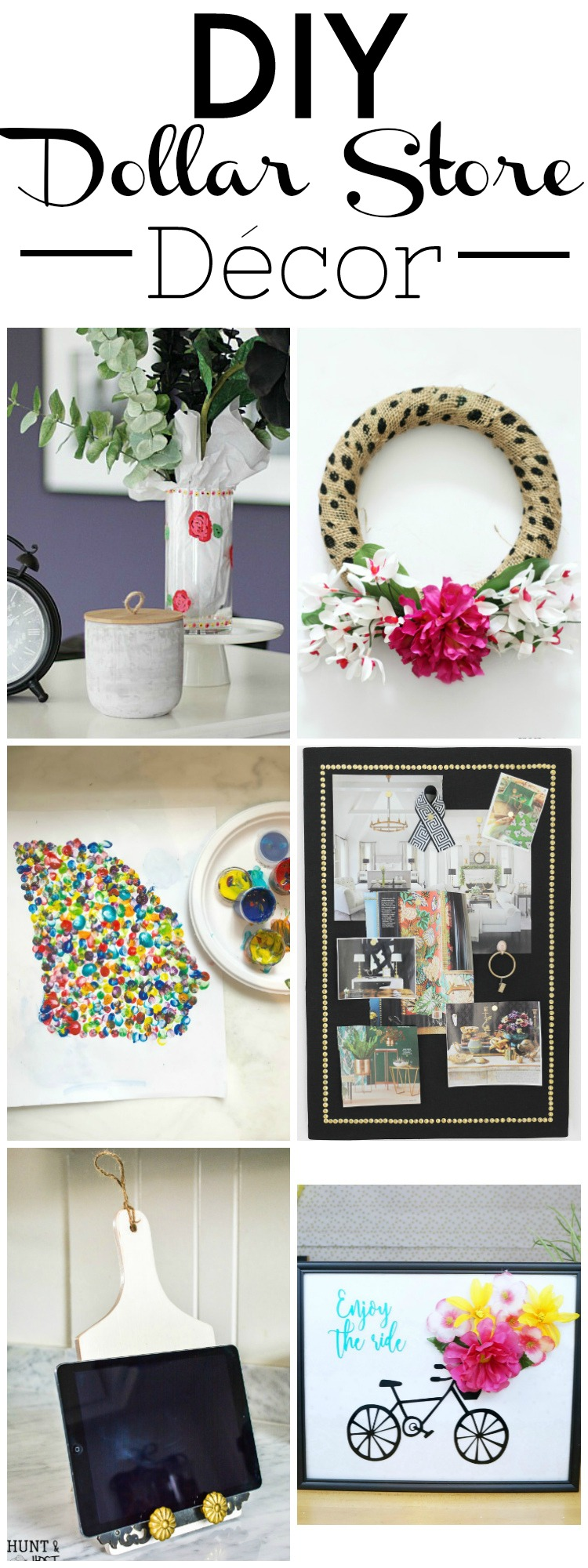 DIY Dollar Store Cork Board Tutorial - Monica Wants It