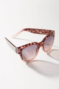 Pink Tortoise sunglasses - Anthropologie