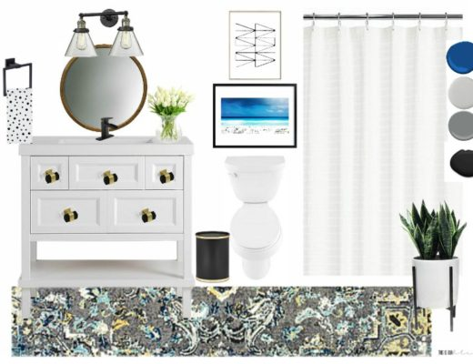 Primp & Pamper Bathroom Refresh Mood Board - This is our Bliss