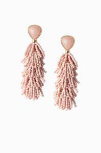 Blush Pink Riva Tassel earrings