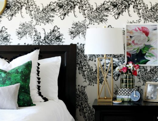 Beautiful bedrooms Tour - Master Bedroom Nightstand styling - This is our Bliss