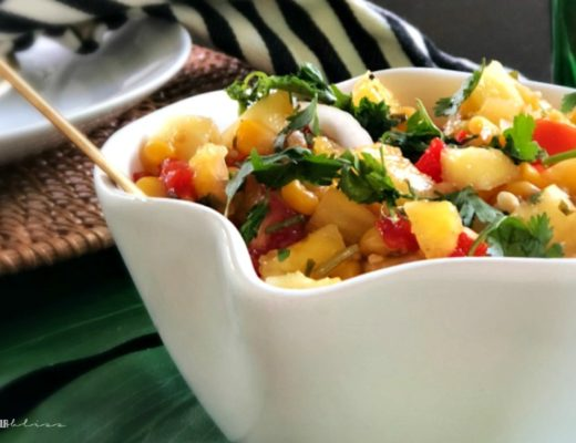 The Perfect Fresh Pineapple Summer Salsa - This is our Bliss