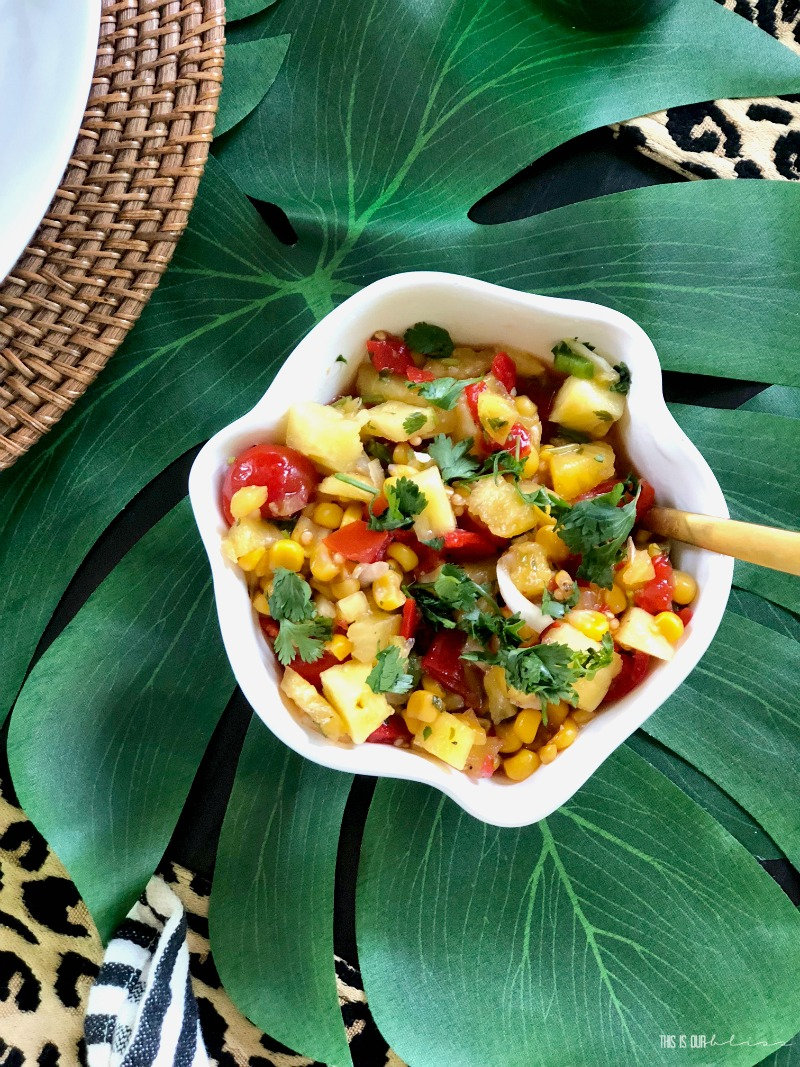 Fresh Pineapple Summer Salsa - This is our Bliss