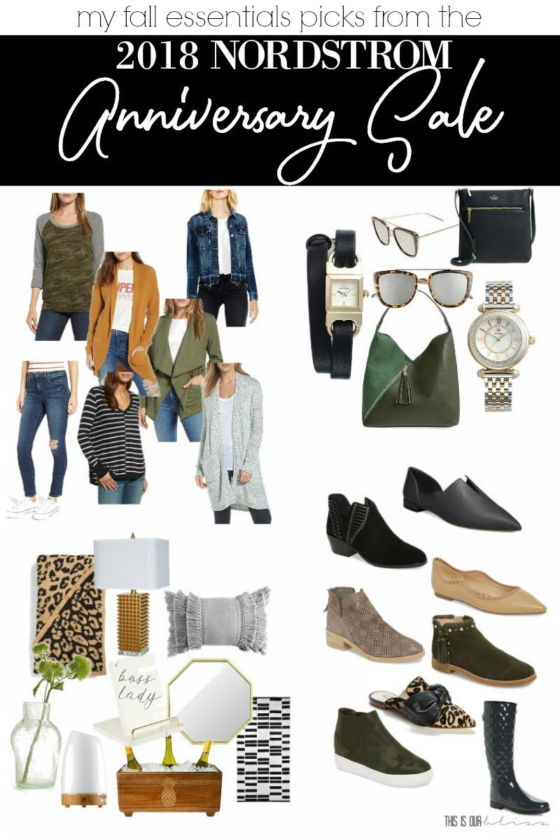 My 2018 Nordstrom Anniversary Sale Picks - Fall Essentials