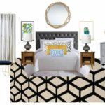 Basement Guestroom Before + Mood Board   $100 Room Challenge Week 1