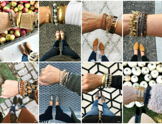 Braclet Layering Inspiration - Arm Party Ideas - How to create a unique look with bracelets - This is our Bliss