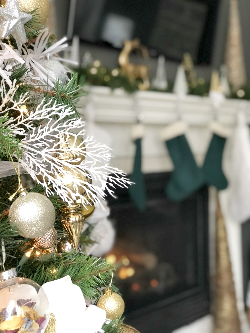 Christmas family room tour - This is our Bliss