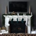 Our Christmas Family Room [Neutrals, Metallic & a Touch of Green]