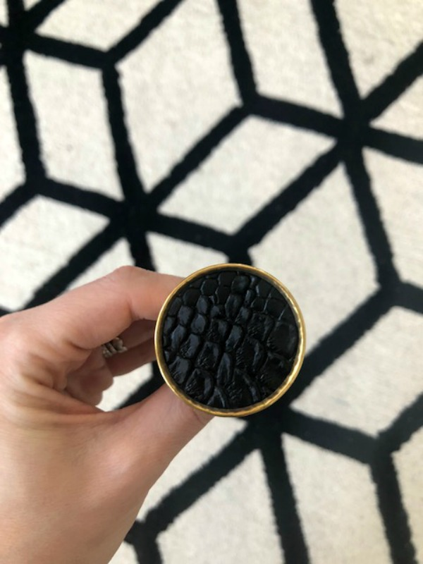 black and gold dresser hardware - This is our Bliss