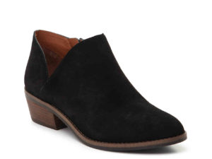 black suede ankle bootie - This is our Bliss