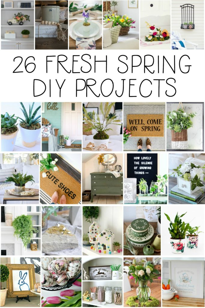 26 fresh spring DIY projects to inspire you! - This is our Bliss
