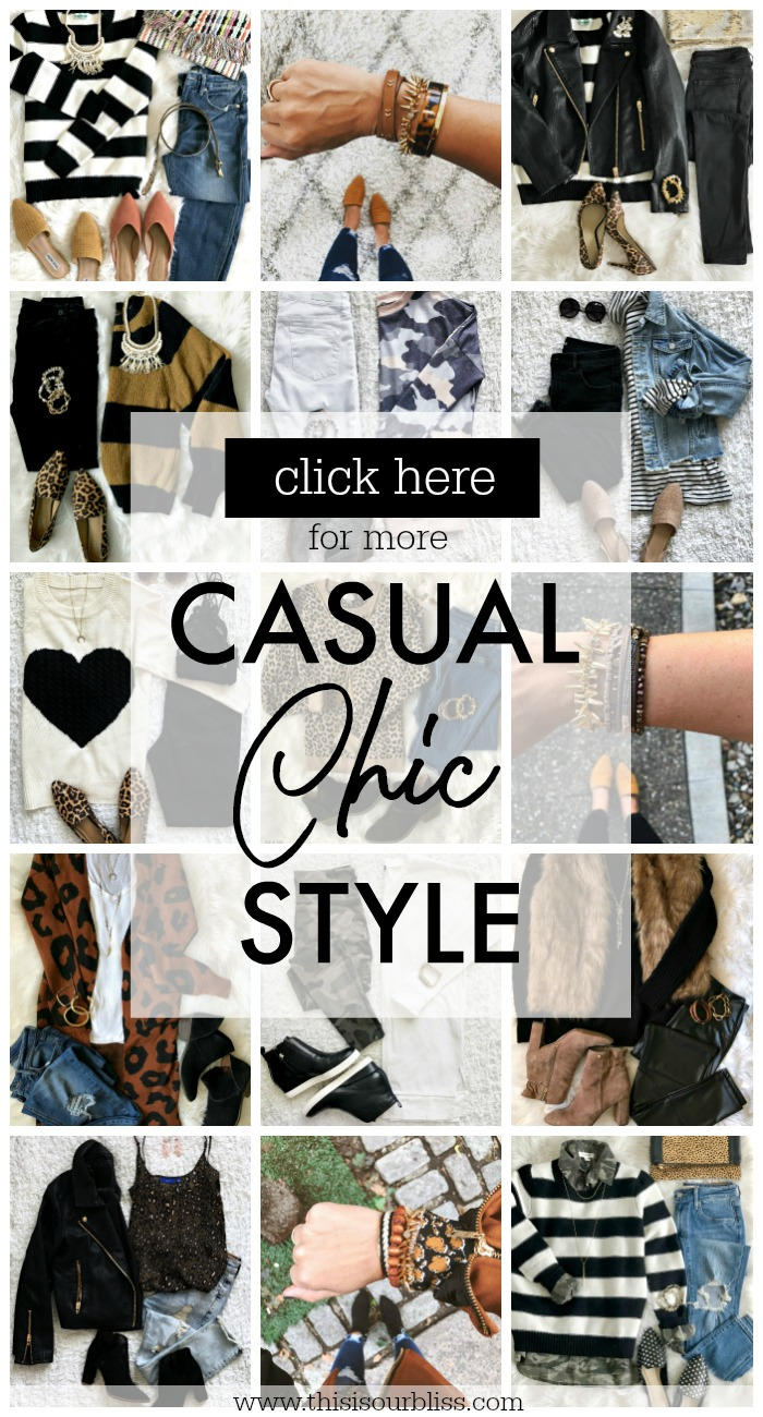 Click here for more casual chic style outfit inspiration and ideas - This is our Bliss