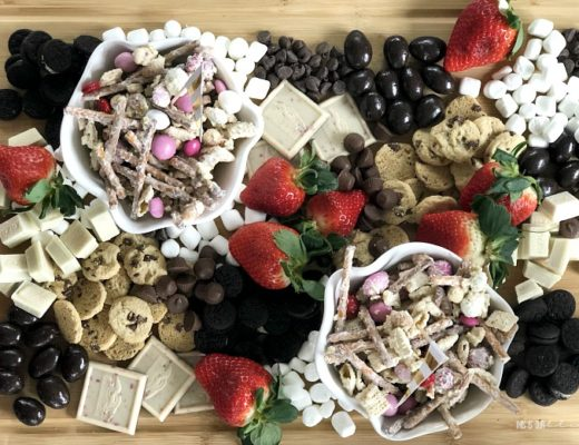 How to make the ultimate sweets and strawberries board - This is our Bliss