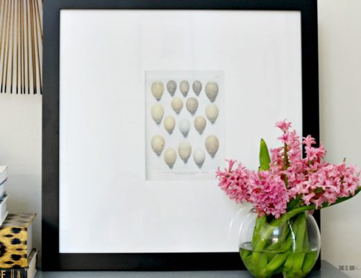 Adorable Speckled Eggs Free Printable for Spring - Spring decorating ideas with Easter Egg art print - This is our Bliss