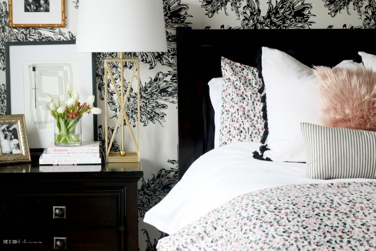 How to do a Mini Spring Refresh in the Bedroom - Styling the master bedroom for Spring - This is our Bliss