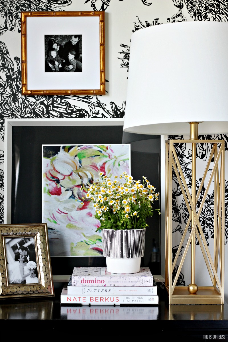 Simple Ways to freshen up your home for Spring | Add colorful art to your home - This is our Bliss