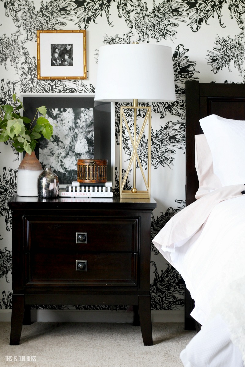 Simple ways to freshen up your home for Spring - new sheets for the bed - freshen up your linens each Spring - This is our Bliss