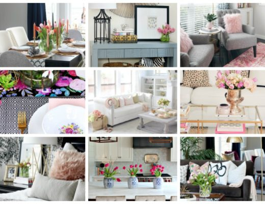 Why pink really is the best color to use for Spring - Inspiring Pink spring decor ideas - This is our Bliss