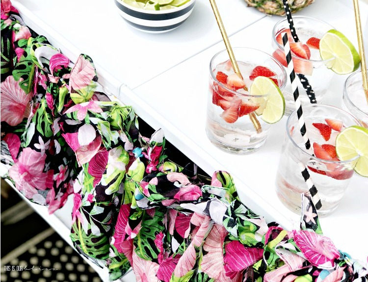 How to Make a DIY Garland Perfect for a Summer Party - This