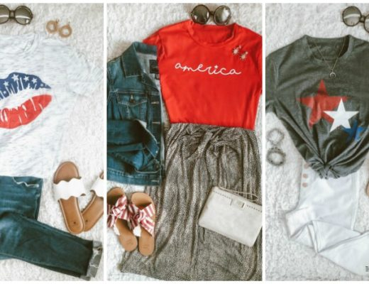 Casual Chic Style - Outfit Ideas for the 4th of July - cute 4th of July outfits - This is our Bliss