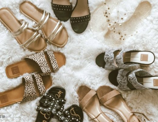 Featured Neutral Stylish Summer sandals you need in your closet - leopard black studded shoes for Spring and Summer - This is our Bliss