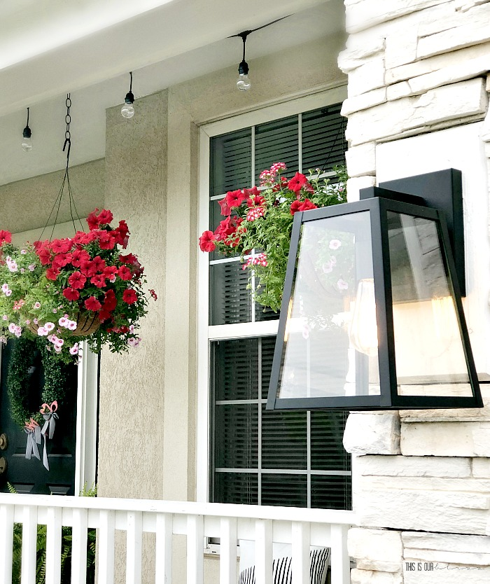 Outdoor Sconce Light For The Front Of The House