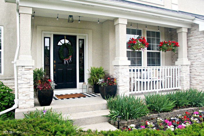 How To Spruce Up Your Front Porch This Is Our Bliss