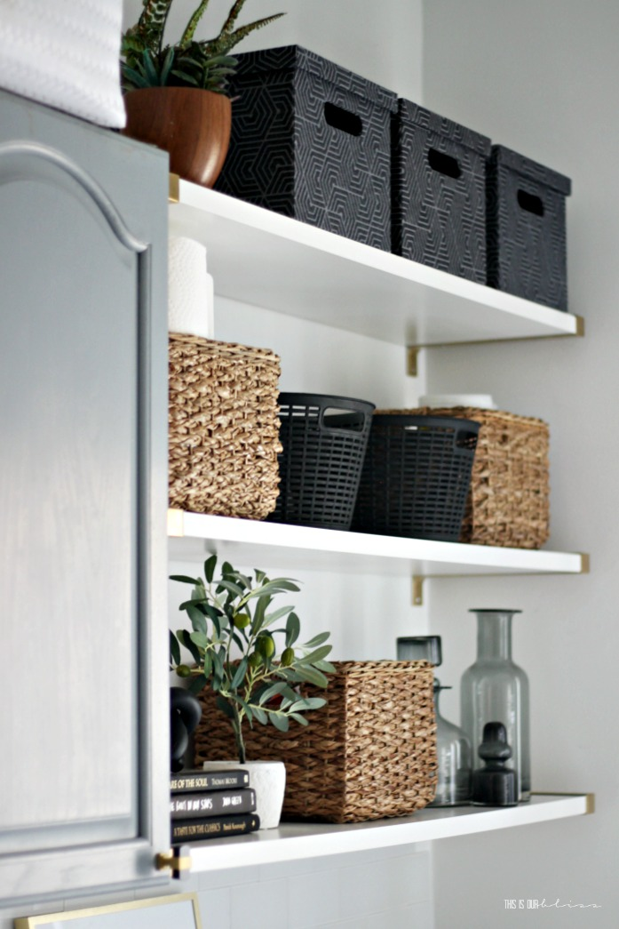 An Organized And Chic Laundry Room Reveal This Is Our Bliss