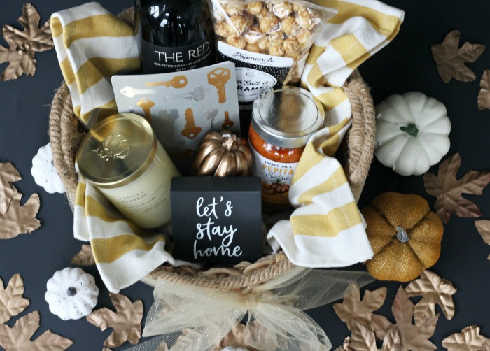 How To Put Together A Simple Housewarming Gift Basket This Is Our Bliss