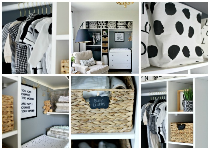 Cute & Affordable Nursery Closet Storage & Organization | This Is Our Bliss