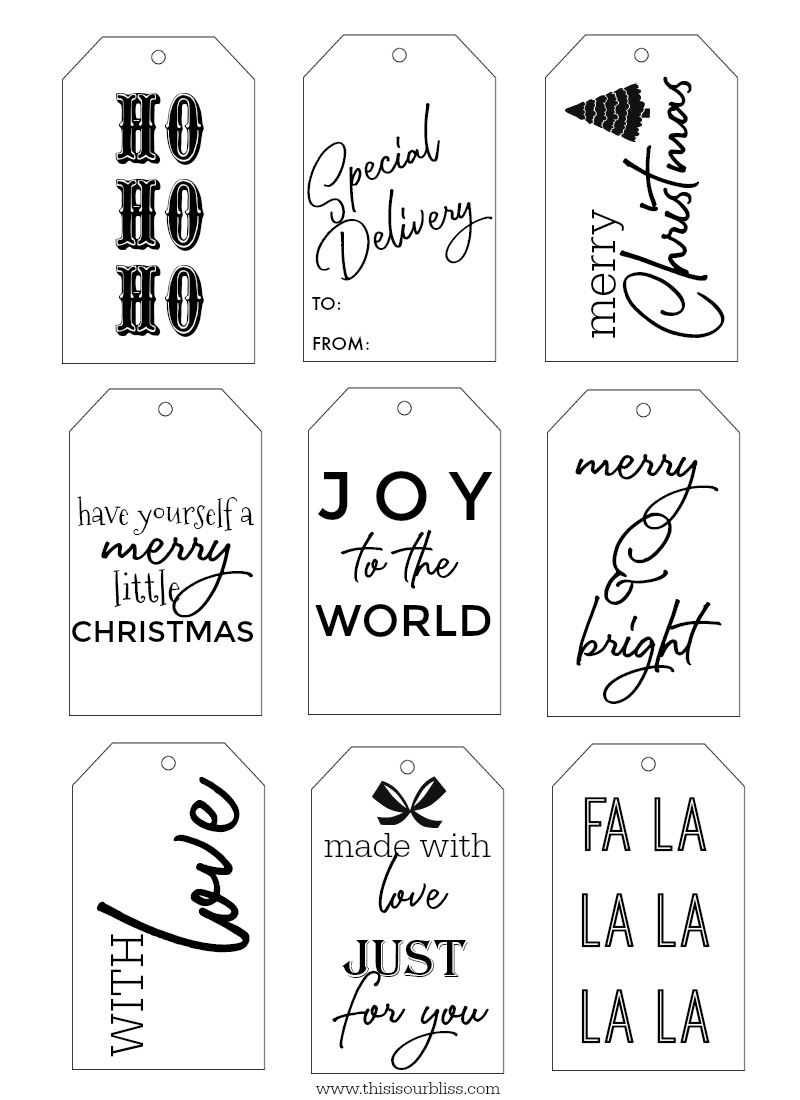 Homemade Gift in a Jar + Free Christmas Gift Tags - This ...