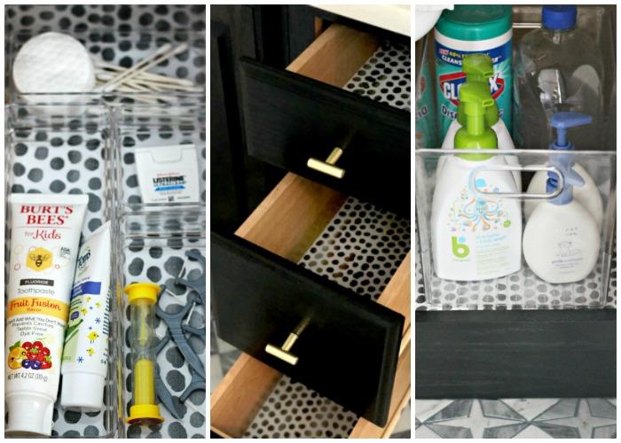 Organize Bathroom Drawer